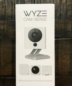 Wyze Cam V2 1080P Indoor Smart Home Camera with wyze Sense Starter Kit for Sale in Memphis, TN