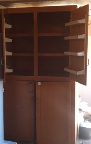 Floor to ceiling cabinet for Sale in Fresno, CA