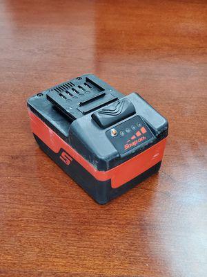 Snap-on 18V 4.0 Ah Battery for Sale in Mesa, AZ