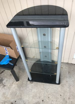 Stylish Furniture Piece with Glass Shelves for Sale in Oxon Hill, MD