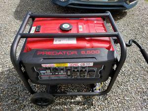 Predator 6,500 Generator for Sale in Bonney Lake, WA