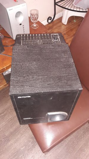 Powered subwoofer aiwa for Sale in Corpus Christi, TX