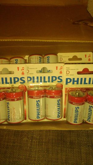 Philips D Batteries for Sale in Bakersfield, CA