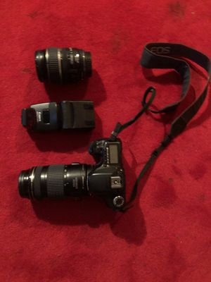 Canon 40D with lenses and accessories for Sale in Seattle, WA