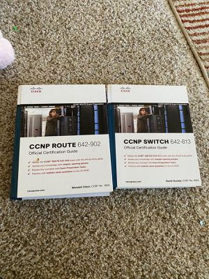 CCNP switching and Routing book for Sale in Cupertino, CA