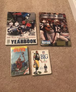 NFL Football books lot for Sale in Woonsocket, RI