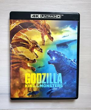 Godzilla: King of the Monsters (4K Ultra HD + Blu-Ray, 2019) No Digital Code for Sale in VLG WELLINGTN, FL
