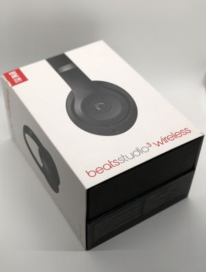Beats Studio 3 wireless headphones (black) for Sale in Downey, CA