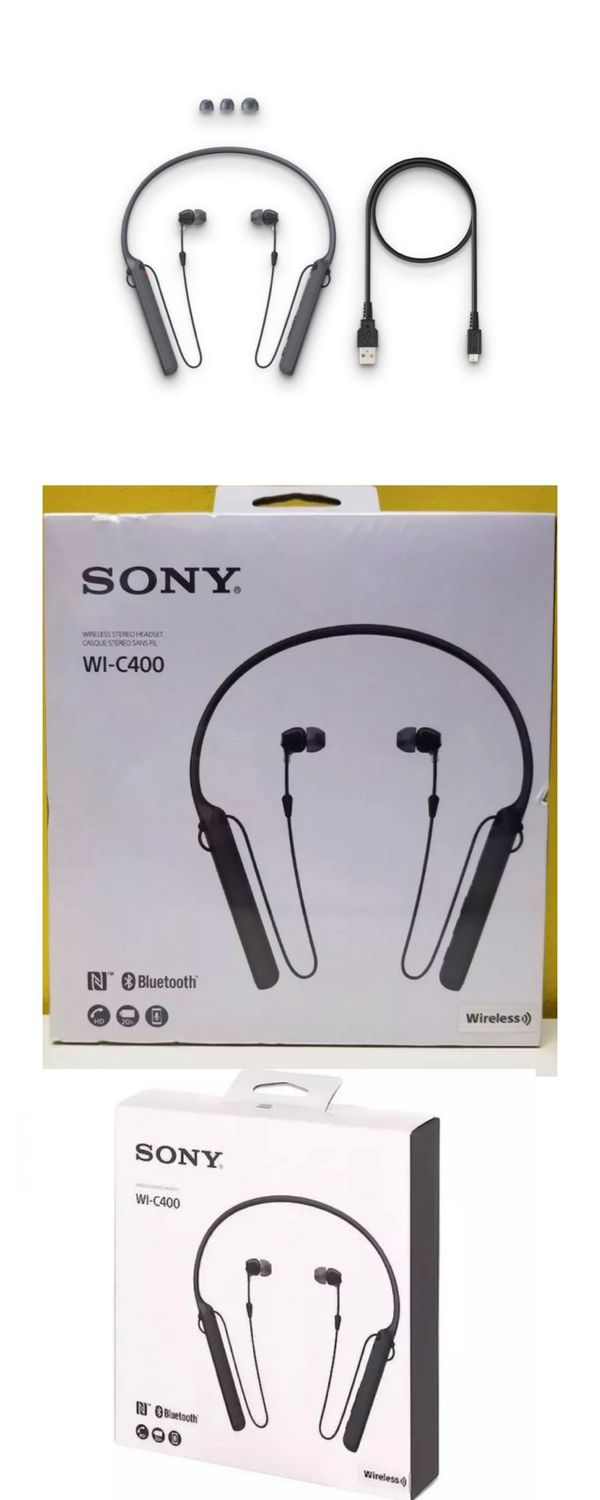 Sony Bluetooth Headphones with hands free calling 20 hours of music listening without charging