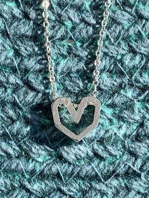 Silver Heart Necklace for Sale in Warrington, PA