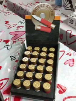 NEW.....bullet shape pocket knives 10.00 each shipping or local pickup at a public place local for Sale in Salem,  MO
