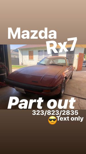 Mazda rx7 part out for Sale in Los Angeles, CA
