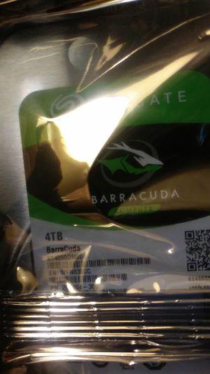 4TB internal harddrive (Seagate Barracuda) for Sale in Pittsburgh, PA