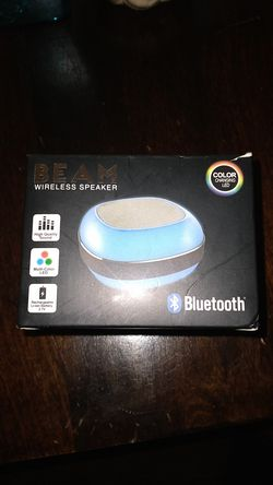 Beam wireless Bluetooth speaker for Sale in Washington,  DC