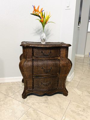Small cabinet or night stand ( Pier one Imports ) for Sale in New Port Richey, FL