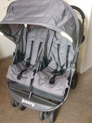 Joovy Double Stroller w/ trays for Sale in Highland, CA