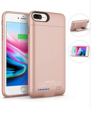 Battery Case for iPhone 6Plus/ 6sPlus/ 7Plus/ 8Plus(5.5inch) 4200mAh Magnetic Slim Charger Case Rechargeable Portable Case Compatible Extended Charge for Sale in Daly City, CA