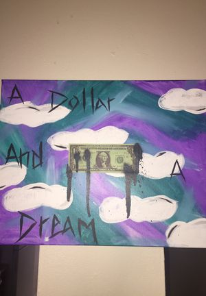 A dollar and a dream painting for Sale in Lakeland, FL