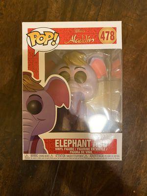 Funko Pop! Elephant Abu #478 Disney Aladdin for Sale in Elk Grove, CA