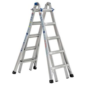 Werner! 22 ft. Reach Aluminum Multi-Position Ladder WITH Stabilizer! for Sale in Clearwater, FL