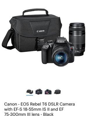 Canon Rebel T6 for Sale in Brockton, MA