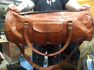 Komal's passion leather duffle bag. Used for Sale in Walnut Creek, CA