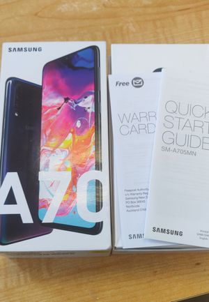"""SAMSUNG A70 6GB 128GB 6.5"""" HD AMOLED - UNLOCKED! for Sale in Bothell, WA"""