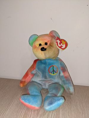Beanie Baby Peace Bear 1996 RARE for Sale in Los Angeles, CA