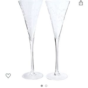 Champagne Flutes Drinking Glasses (Kate Spade) for Sale in Torrance, CA