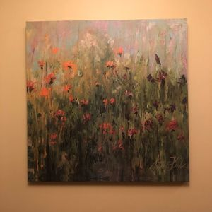 Floral Watercolor Painting for Sale in Alexandria, VA