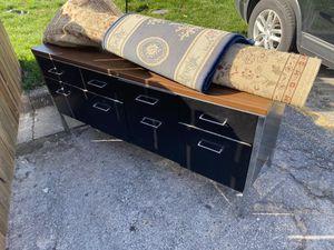 Long file cabinet desk for Sale in Overland Park, KS