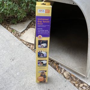 Universal Dog House Door ASPCA Collection for Sale in San Antonio, TX