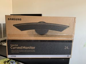 24 inch Samsung curved LED monitor-new for Sale in Dunwoody, GA