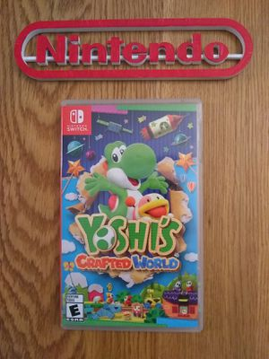 NSW YOSHIS CRAFTED WORLD CASE ONLY! NO GAME! for Sale in Shippensburg, PA