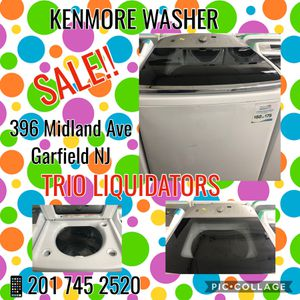 Kenmore Washer SALE !! for Sale in Passaic, NJ
