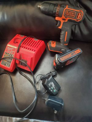 Drill and charger for Sale in Pleasant Hill, IA