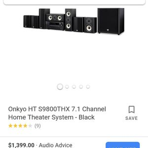 Onkyo 6 disk DVD sourond sound home theater for Sale in Morrow, GA