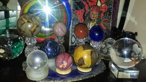 Set of mineral spheres mixed lot for Sale in Tucson, AZ