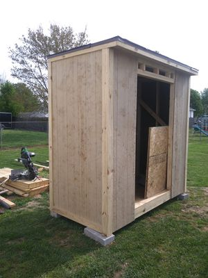 4x8x8. Storage shed about done. for Sale in Murfreesboro, TN