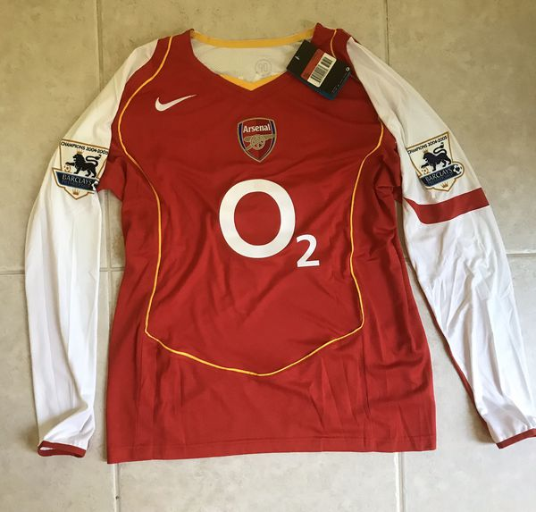 Thierry Henry 2004-2005 FA cup Champions Jersey