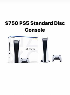 Ps5 disc standard console preorder for Sale in Westminster, CA