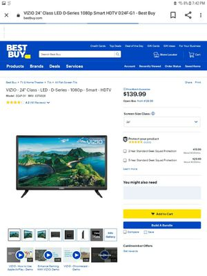 New 24 in Vizio Smart TV for Sale in Eugene, OR