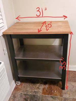 Kitchen Island Cart for Sale in Chicago, IL