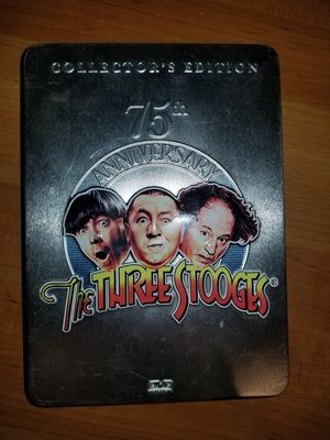 Three Stooges 75th Anniversary Disc Set for Sale in Greenacres, WA