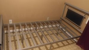Twin metal bed frame for Sale in Columbus, GA