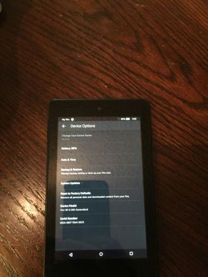 Kindle Fire HD 6 fourth generation. for Sale in Miami, FL
