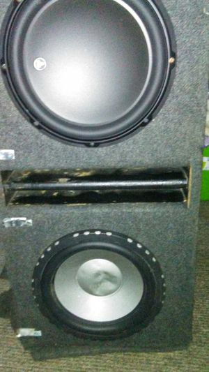"""JL Audio speaker and Diamond Both 12"""" selling my car don't need them anymore. for Sale in Charleroi, PA"""