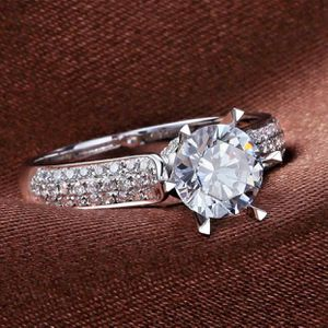 925 silver wedding engagement ring size 6,7,8 available jewelry accessory stunning ring! for Sale in Silver Spring, MD