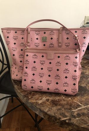 Pink MCM Tote Bag with Little purse for Sale in Washington, DC