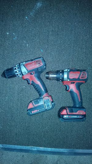 Milwaukee drill and hammer drill for Sale in Painesville, OH